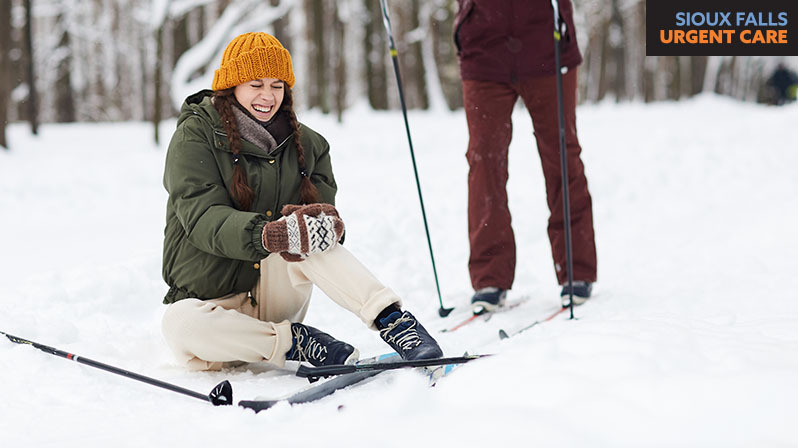 A guide to winter sports common associated injuries